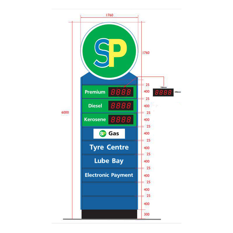 petrol station canopy design