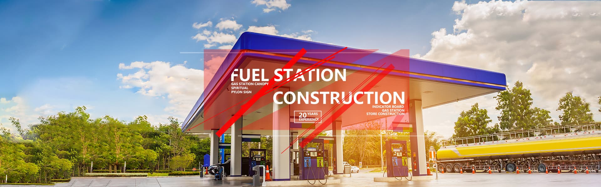 Gas station construction company