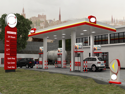 gas station Central Africa project