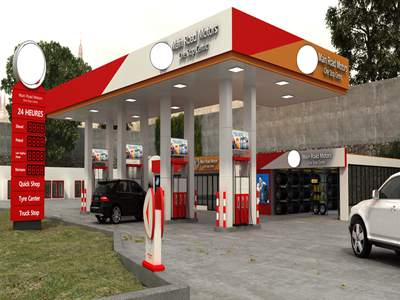 petrol station Southeastern Africa project
